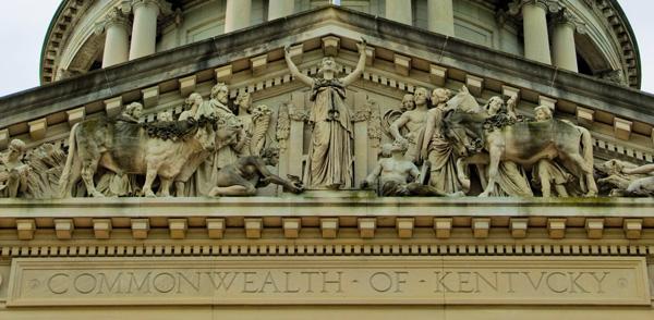 Kentucky Capitol Exterior Detail