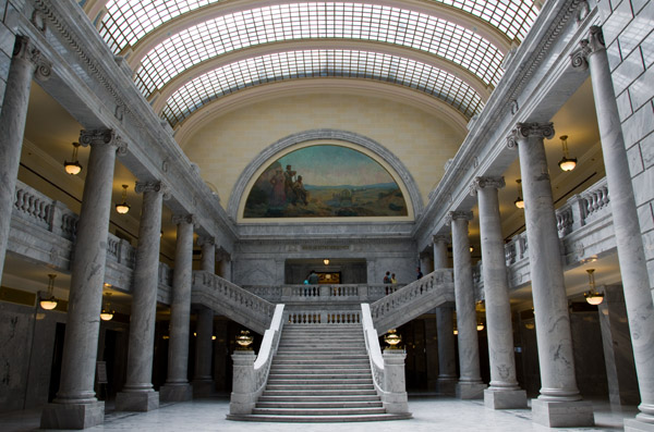 Salt Lake City Capitol Atrium