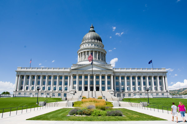 Salt Lake City Capitol Exterior