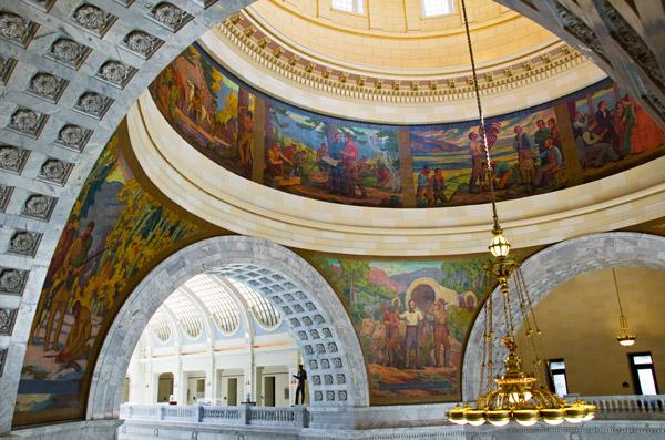 Salt Lake City Capitol Murals