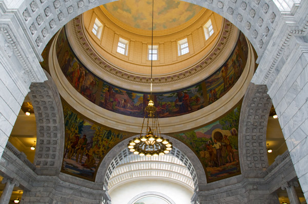 Salt Lake City Capitol Rotunda