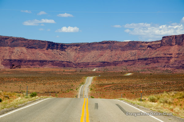 Red Rock Road Southern Utah