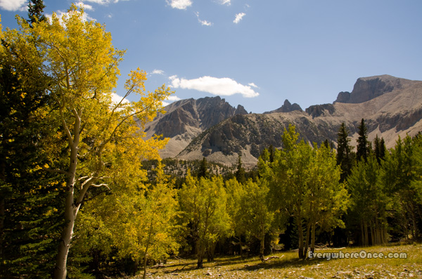 Great Basin National Park, Nevada, Landscape, Fall Colors