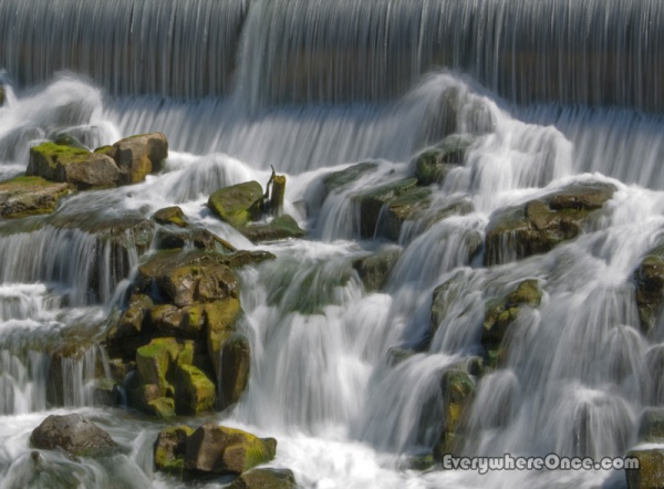 Idaho Falls, Waterfall, Landscape