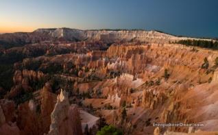 Bryce Canyon National Park, Landscape, Hoodoos, Sunrise