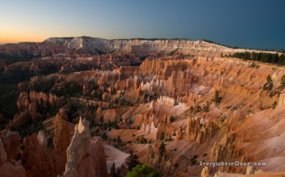 Bryce Canyon National Park, Landscape, Hoodoos, Sunrise