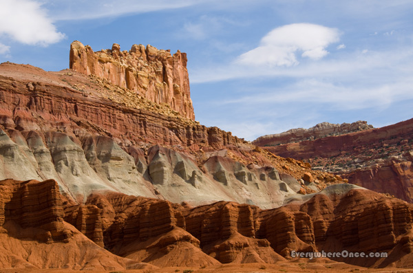 Capitol Reef National Park Castle, Landscape