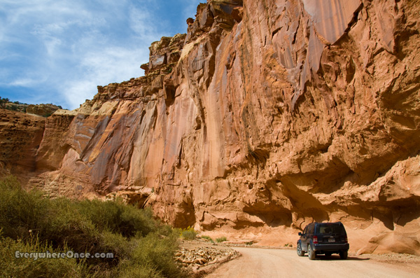 Capitol Reef National Park Roads