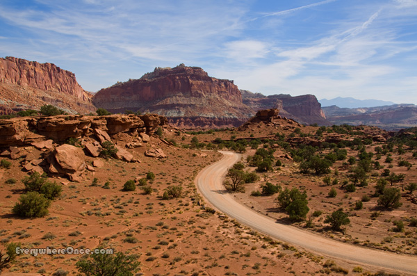 Capitol Reef National Park, Landscape
