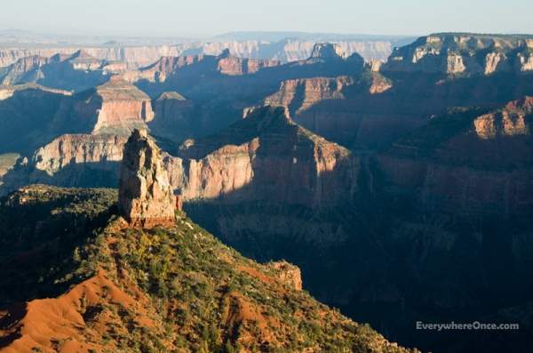 Imperial Point, Grand Canyon National Park, North Rim, Landscape, Canyon
