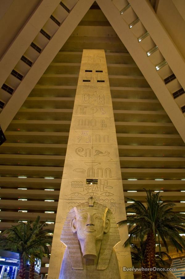 Las Vegas, Luxor Hotel, Obelisk