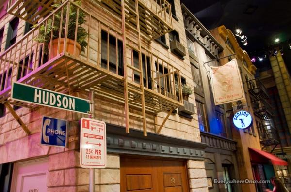 Las Vegas New York, New York, Hotel, Inside, Hudson Street