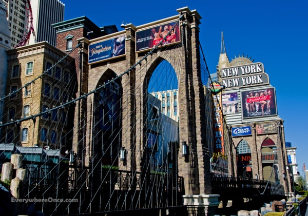 Las Vegas New York, New York, Brooklyn Bridge, Hotel