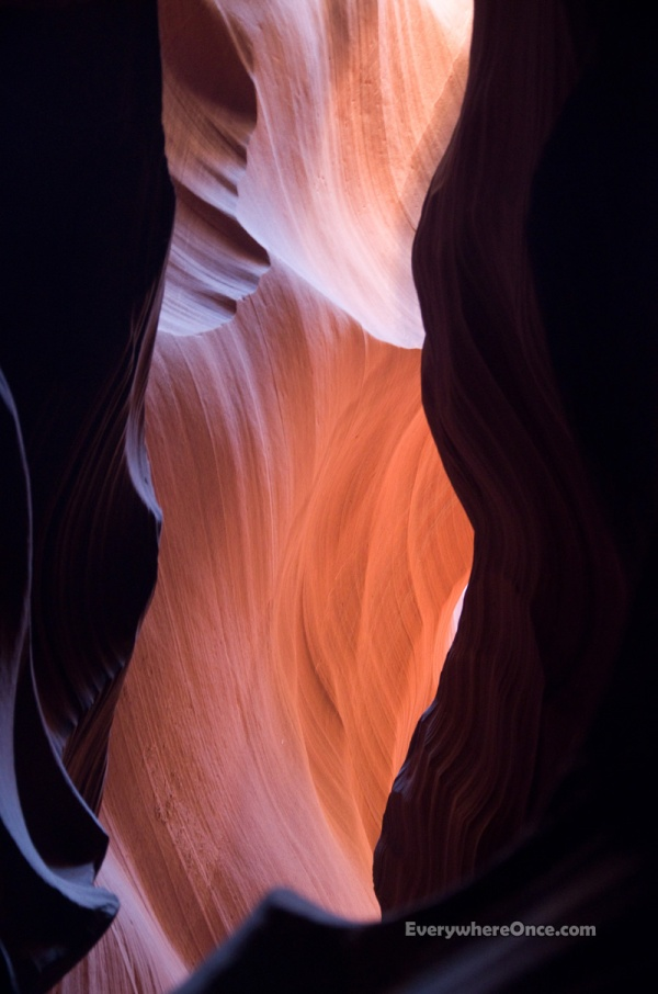 Upper Antelope Canyon, Slot Canyon, Landscape, Page, Arizona, Light, Color