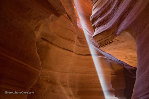 Upper Antelope Canyon, Light Beam