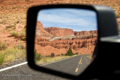 Utah, Desert, Highway, Mirror, Road, Reflection, Landscape, Red rocks