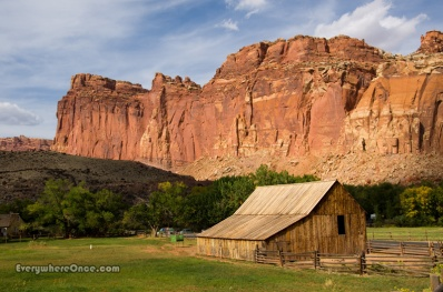 Gifford Homestead Barn, Capitol Reef National Park, Utah
