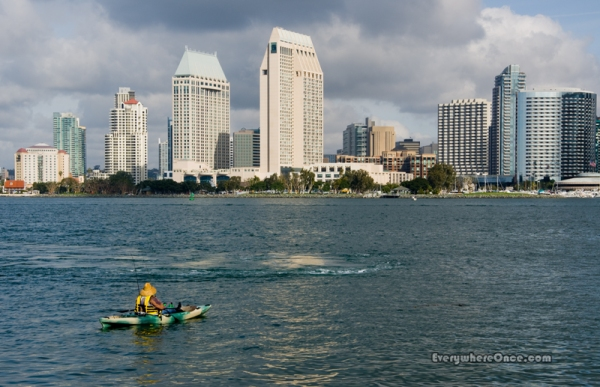 Urban Fisherman, Coronado, California