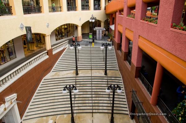 Westfield Horton Plaza  Interior Stairs