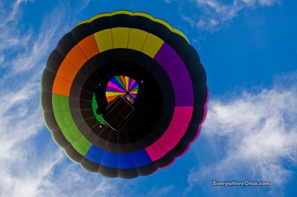 Yuma Balloon Festival Balloon Flyover