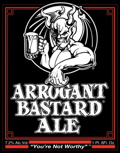 Stone Brewing Arrogant Bastard Label