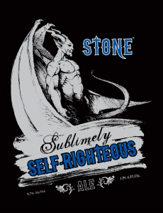 Stone Brewing Sublimely Self Righteous Logo
