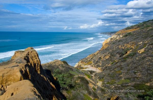 Torrey Pines, Coastal Cliffs
