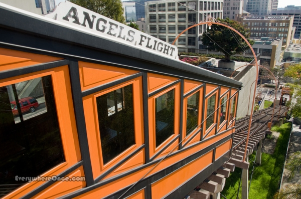 Angels Flight Railroad Downtown LA