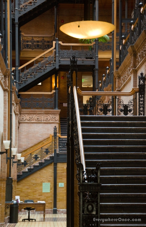 Bradbury Building Downtown LA