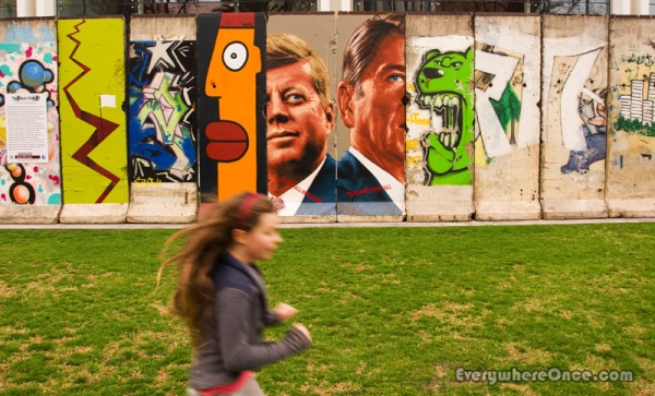 The Wall Along Wilshire, Berlin Wall