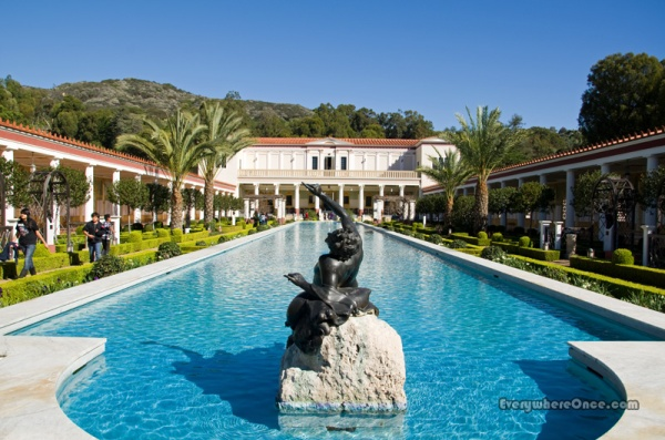 Getty Villa Pool