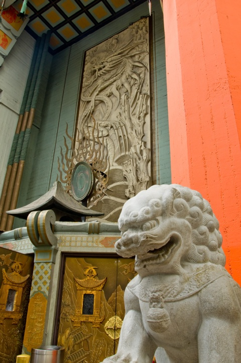 Hollywood Chinese Theater Foo Dog