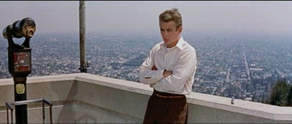 James Dean at Griffith Observatory