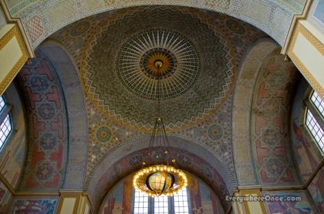 LA Central Library Rotunda