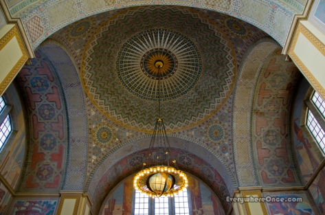 LA Central Library Rotunda