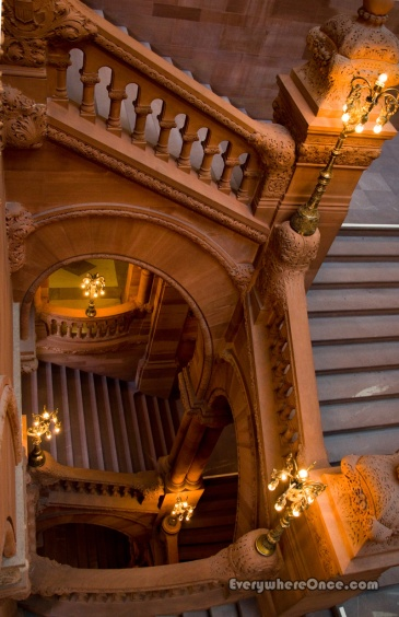 New York State Capitol Great Western Staircase 3