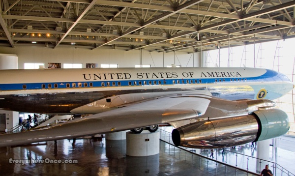 Ronald Reagan Library Airforce One