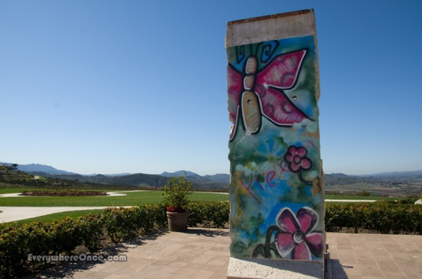 Ronald Reagan Library Berlin Wall Section