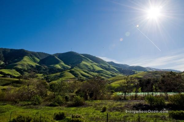 Central Coast Landscape near San Luis Obispo