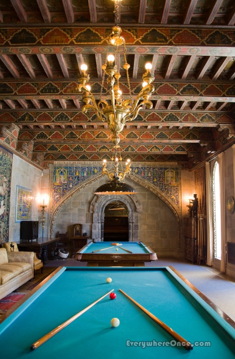 Hearst Castle Billiard Room