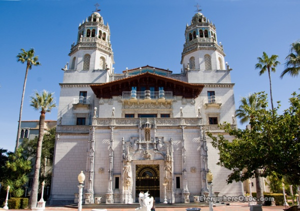 Hearst Castle Facade