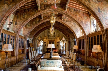 Hearst Castle Gothic Suite