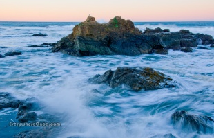 Morning Waves on the Pacific Coast