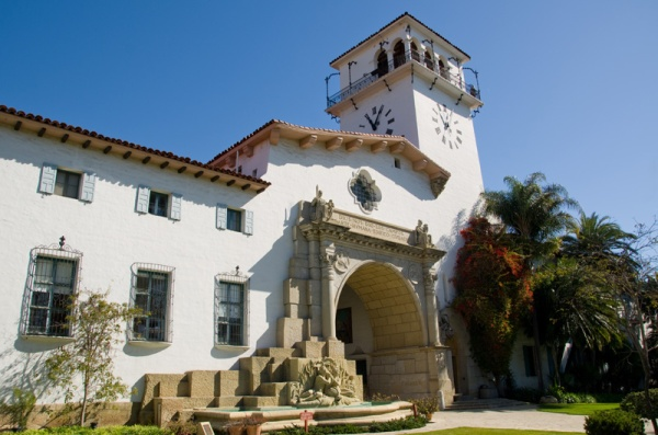 Santa Barbara Courthouse Exterior