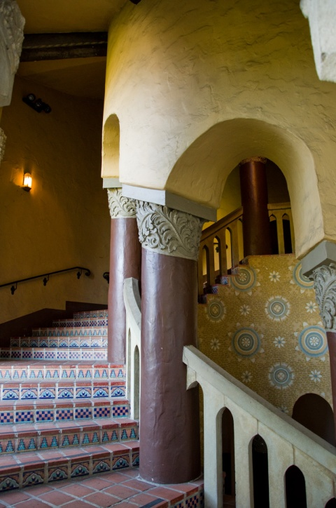 Santa Barbara Courthouse Spiral Stairs