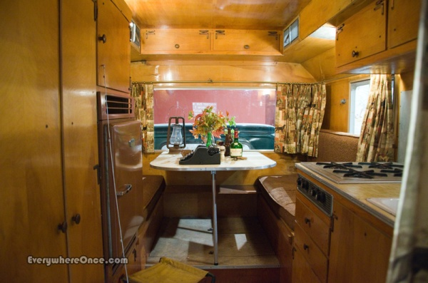 John Steinbeck Rocinante Camper Interior