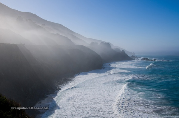 Morning in Big Sur, California
