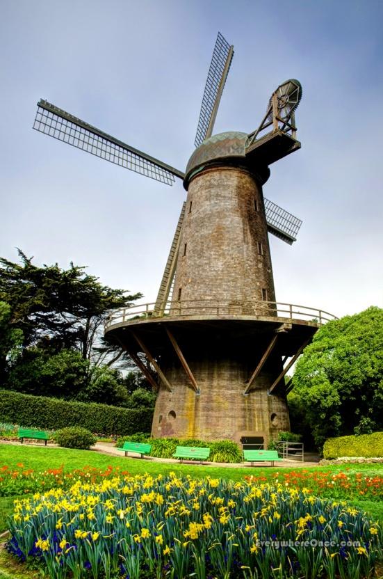 San Francisco Windmill Golden Gate Park