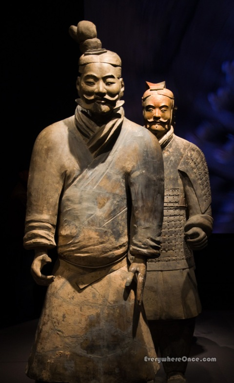 Terracotta Army Warrior and Armored General