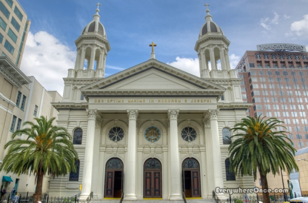 The Cathedral Basilica of St. Joseph Exterior